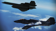 ASF-X -Ridgebacks- with SR-71