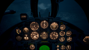 F-104C Cockpit(Night)