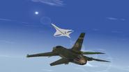 F-16XF Gyrfalcon and R-505U
