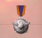 Ace x2 mp medal silver raptor