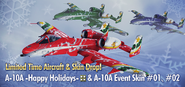 A-10A Happy Holidays Banner