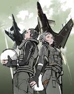 Ikaros In The Sky (Sketch)
