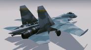 Su-33 Flanker-D Hangar