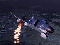 F-4E Phantom II Napalm Bomb ACZ