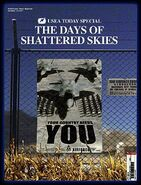 THE DAYS OF SHATTERED SKIES Cover 1