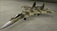 Su-37 Standard color hangar