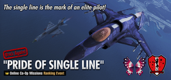 Back Again Pride of Single Line banner
