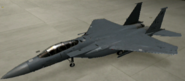 F-15E Standard color hangar