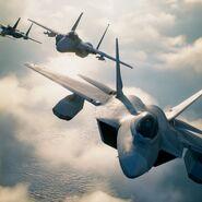 AC7 F-22A & F-15C 4K