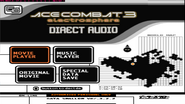 AC3E Direct Audio AppenDisc Menu