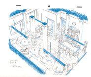 Sky Kid Café (Interior)