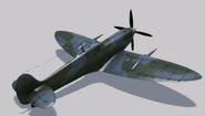 Supermarine Spitfire Mk.IXe Hangar