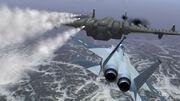 XB-0 Head-On Attack
