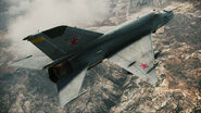 ACAH MiG-21bis Rear
