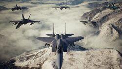 Spare Squadron Formation