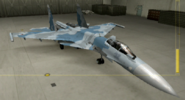 Su-37 Soldier color hangar