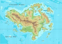 Usean Topographical Map