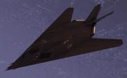 F-117A Nighthawk Flyby