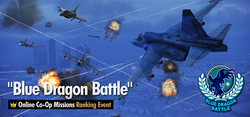 Blue Dragon Battle Ranking Tournament Banner