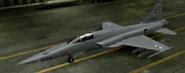 F-5E standard color hangar