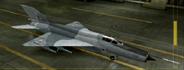MiG-21bis Knight color hangar