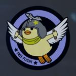 Free Flight Nugget Emblem