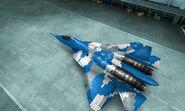 PAK FA PAC-MAN Color 02 Hangar