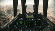 F-117A cockpit