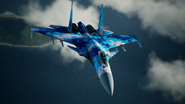 Su-37 Special Skin Flyby 3
