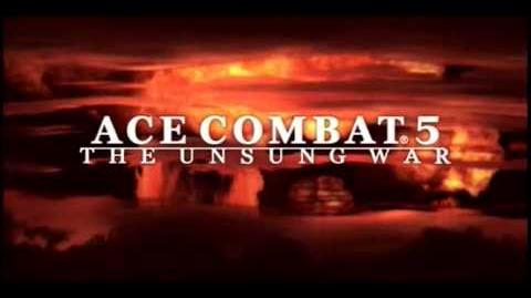 Ace Combat 5 The Unsung War - Demo Reel (mobile edition)