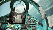 MiG-21bis cockpit (ACAH)