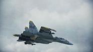 Su-37 Jean Louis flyby 2