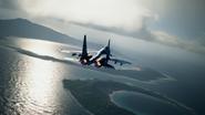 Su-37 Special Skin Distant