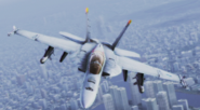 FA-18F -Avalanche- MVP Flyby 2