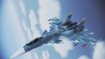 Su-33 Flanker-D Flyby 1 por RythusOmega