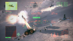 AC6 Co-Op Battle Gameplay Screenshot
