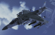 AV-8B Harrier II plus Flyby