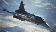 AC7 Gripen E Loading Screen Flyby