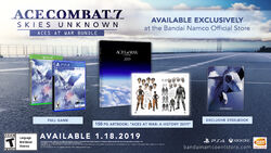 Ace Combat 7 Aces At War Bundle