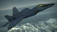 F-22A -INDIGO WING- Flyby