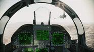 FA-18F Super Hornet Cockpit Assault Horizon
