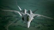X-02S Strike Wyvern Flyby No Emblem 5
