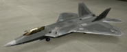 F-22A Standard color hangar