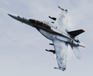 FA-18F -Avalanche- MVP Flyby