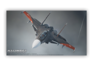 AC7 Joshin Su-30SM Wallpaper