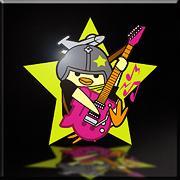 Guitar Nugget Emblem