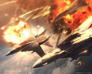 AC5 Wardog Explosion Wallpaper 1280x1024