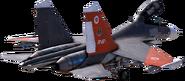 AC7 Su-30SM Stationary (No Background) 2