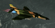F-4E Normal Skin 01 Green Flyby
