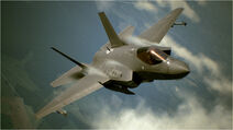 F-35C in flight